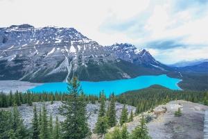 Peto Lake Rockies