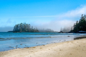 morning mist at Tofino